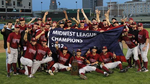 Wisconsin, the Midwest League's oldest team, showed poise and experience on the way to the title.